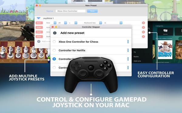 Controller Mapper for Mac