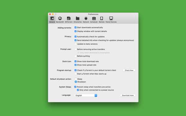 how to use utorrent on mac 2018