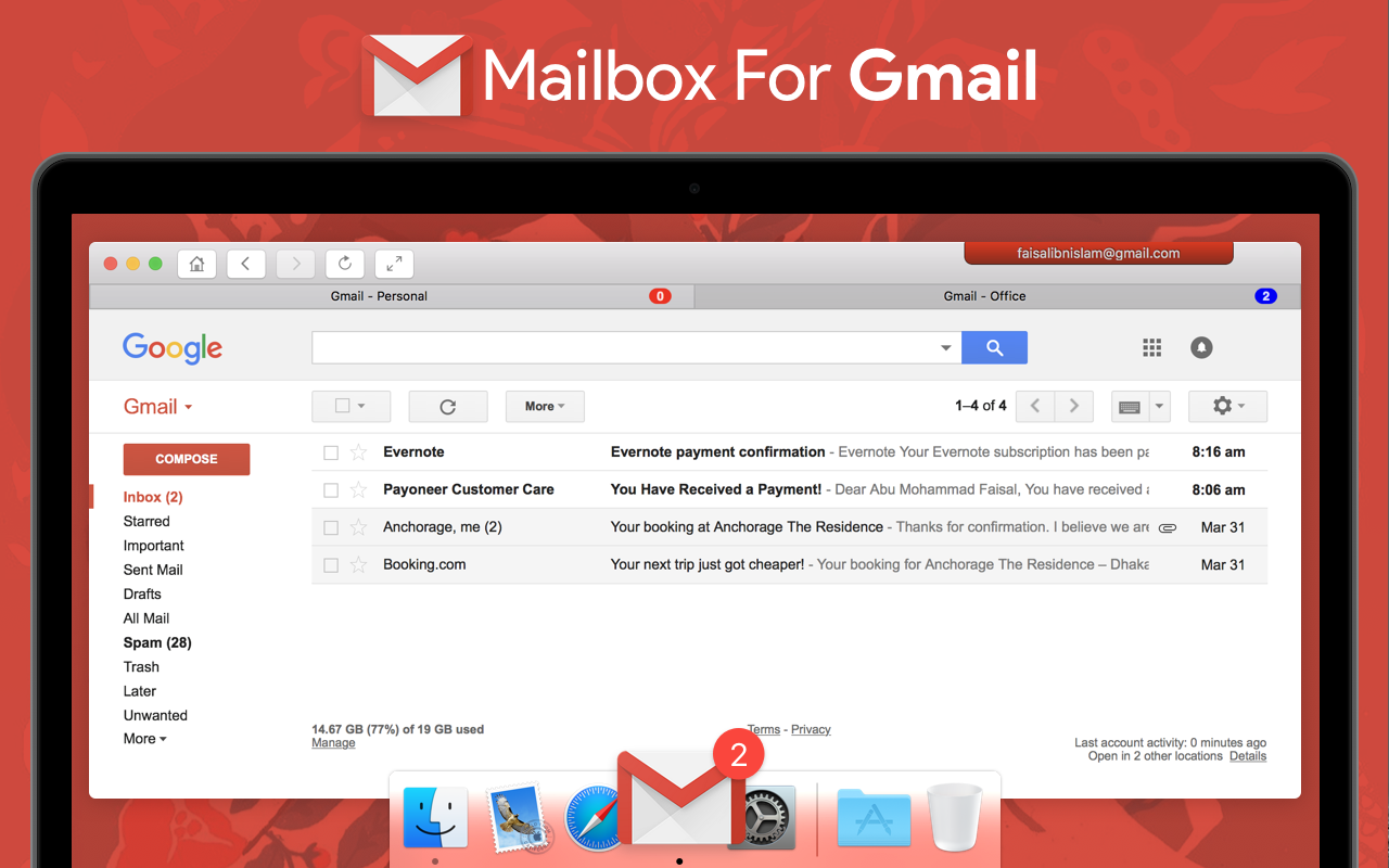 Gmail Pro For Mac