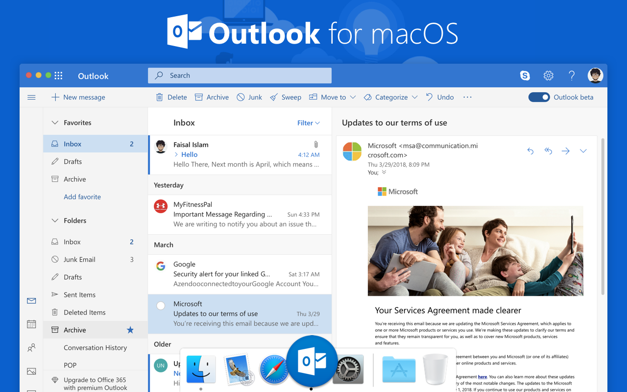 outlook for mac 2018 free download