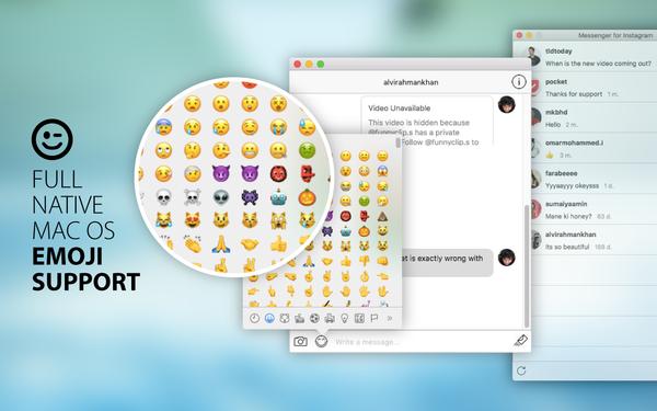 Instagram Messenger for Mac