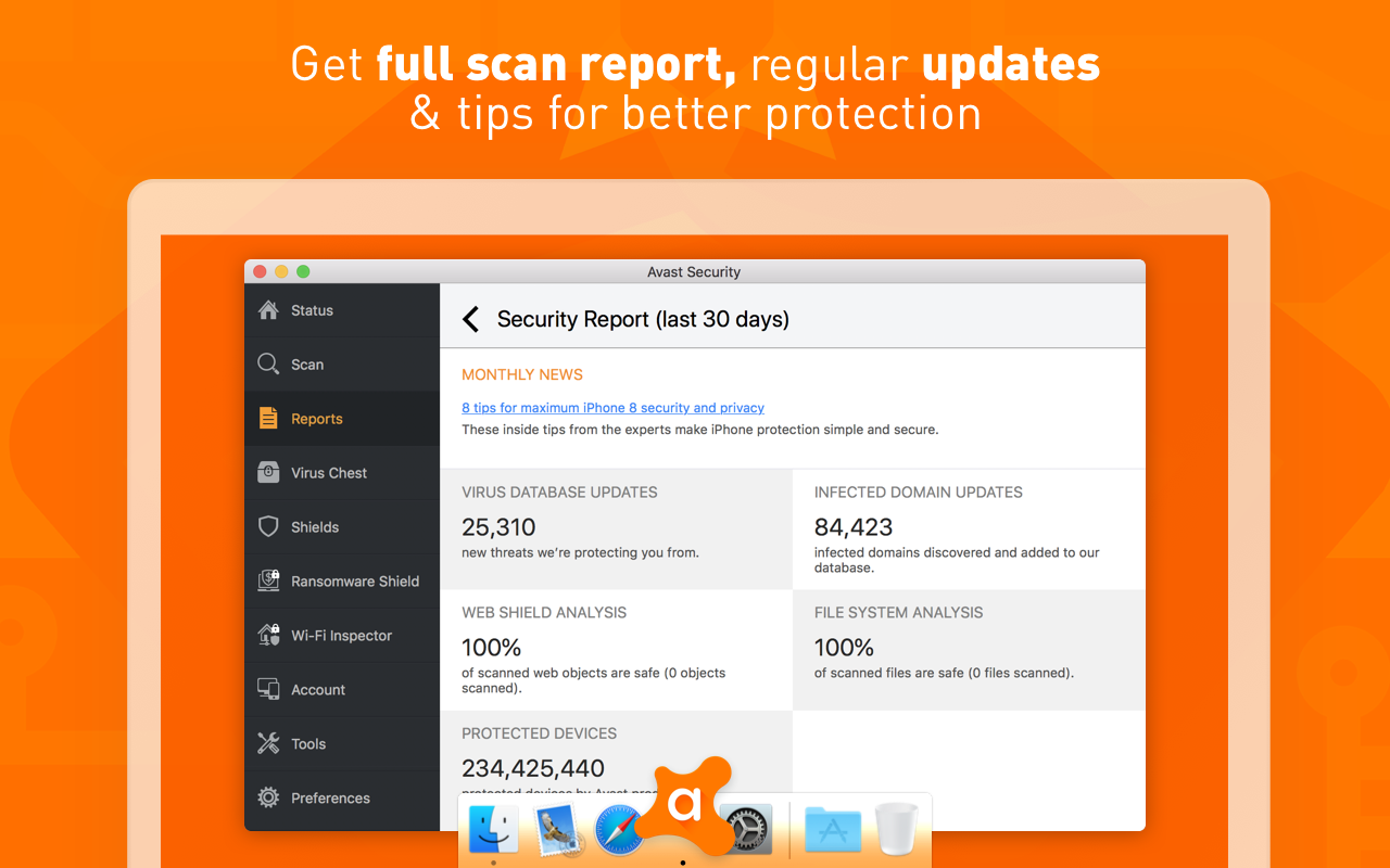 Antivirus Report For Mac